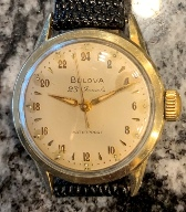 Rare Bulova true 24 hour military watch from 1960