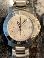 Baume & Mercier Capeland - all steel automatic chronograph