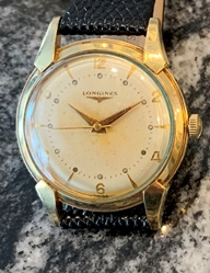 Longines manual wind circa 1953 vintage