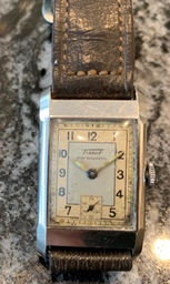 Tissot Non Magnetic tank watch circa 1935