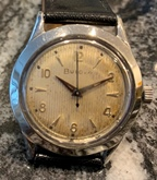 Bulova Phantom manual wind watch circa 1954
