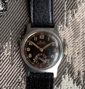 Mido Multifort 40's WW2 vintage boy's size watch
