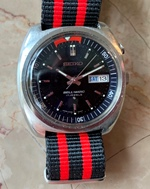 Seiko Bellmatic Alarm watch circa 1972