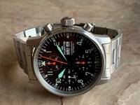 Fortis Flieger Military/Aviator chronograph
