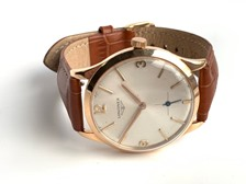 Classic Longines manual wind 18K Pink Gold circa 1962