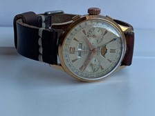 Difor triple date moonphase chronograph - 60's vintage