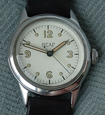 Royal Canadian Air Force (R.C.A.F.) Pilots Military Watch